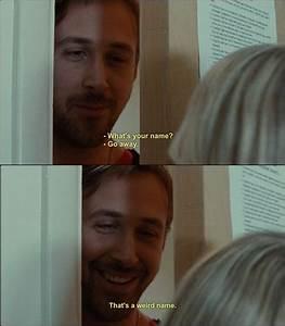 Blue Valentine (2010) ~ Dean(Ryan Gosling): What's your ...