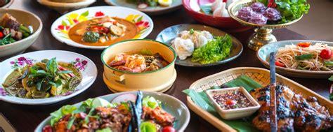 cuisine thaie la cuisine thaïe thaïlande