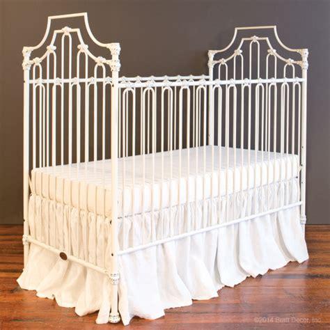Bratt Decor Crib Distressed White by Parisian 3 In 1 Crib Distressed White