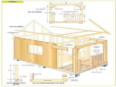 building plans free diy cabin plans free cabin plans bunkie plans