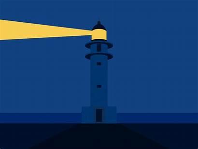 Animation Lighthouse Animated Animations Dribbble Subtle Dark