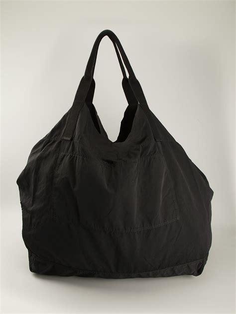 drkshdw  rick owens oversized slouchy tote bag  black