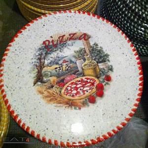 Keramik Geschirr Mediterran : pizzateller aus keramik pizza teller mit landestypischen ~ Michelbontemps.com Haus und Dekorationen