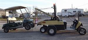 Golf Cart Gas Tow Truck - Ezgo