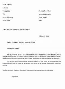 Résiliation Contrat Assurance Voiture : modele lettre de resiliation de contrat document online ~ Gottalentnigeria.com Avis de Voitures