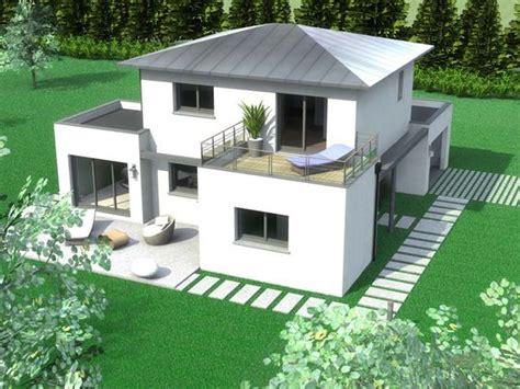 plan maison sims 3 moderne construction maison contemporaine finist 232 re et c 244 tes d armor maison jardin ext 233 rieur