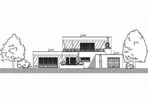 plan de maison contemporaine clapotis With plan facade maison moderne