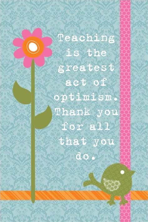 preschool appreciation quotes quotesgram 108   1725308243 Quote Optimism