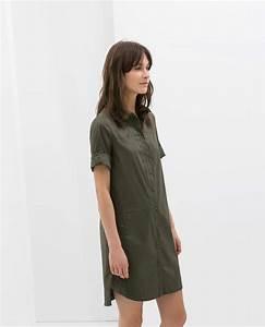 Zara robe chemise popeline summer effortless style for Zara robe chemise