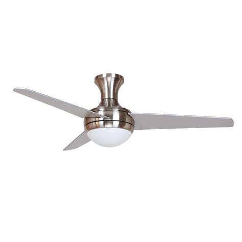 decor aislee   brushed nickel ceiling fan aislee bn