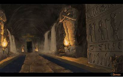 Fantasy Catacombs Egyptian Egypt Character Lovecraft Inspiration