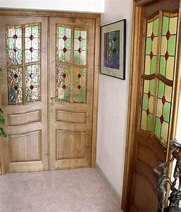 vitraux creation architecture vitrail carlo roccella With porte d entrée alu avec réalisation de salle de bain