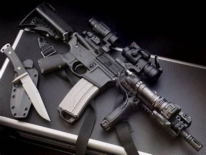 Gun Wallpapers Backgrounds Machine Guns Desktop Computer
