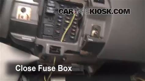 2003 Ford Econoline Fuse Box Diagram V 6 by 1997 2002 Ford Expedition Interior Fuse Check 2000 Ford