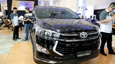 Toyota Venturer 2019 by New Toyota Innova Venturer 2019 Black Colour Exterior