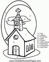 Church Coloring Pages Going Children Colouring Cartoon Printable Families Buildings Architecture Drawing Books Comments Getdrawings Clip Library Coloringhome Popular sketch template