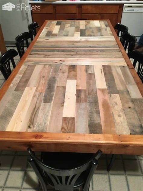 Stunning Pallet Dining Table ? 1001 Pallets