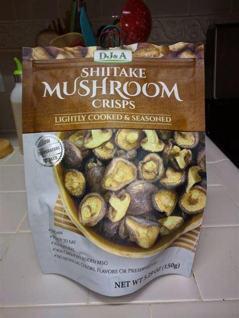 shitake mushroom crisps eat