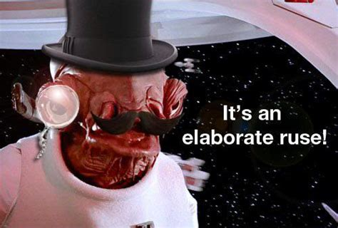 Admiral Ackbar Meme - star wars voice actor who as admiral ackbar warned it s a trap dies at 93 the two way npr