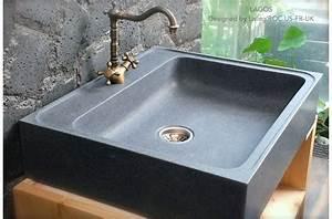 70x60 evier en pierre pour cuisine timbre office lagos With evier cuisine en pierre