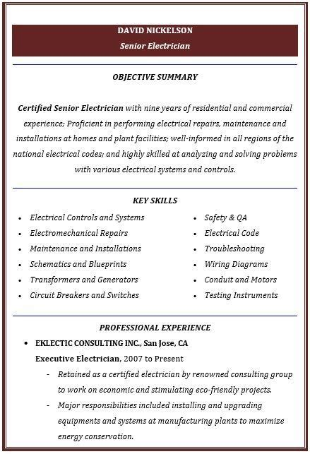 Pre Apprentice Electrician Resume by 100 Maintenance Electrician Cover Letter Sle International Electrician Cover Letter