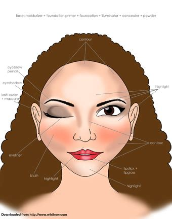 How To Apply Makeup (with Pictures)  Wikihow. Design Of Tiles In Kitchen. Kitchen Design Pictures Dark Cabinets. Designs For Small Kitchens Layout. Kitchen Design For Small Spaces. Kitchen Units Designs. Kitchen Design Portland Maine. Latest Designs Of Kitchens. Online Kitchen Designer