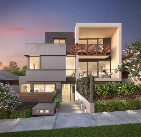 desain rumah mewah minimalis modern  lantai model