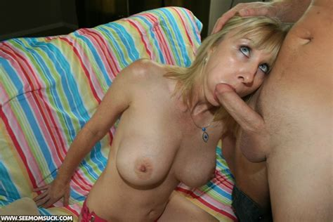 Mother Keri Lynn Sucks And Slobbers On Billys Cock At See