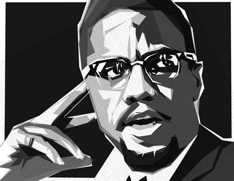 malcolm  speaks  black economics blackout coalition
