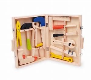 Fräsaufsatz Bohrmaschine Holz : kinder werkzeugkoffer lino aus holz mit 12 werkzeugen vom hammer bis zur bohrmaschine f r ~ Frokenaadalensverden.com Haus und Dekorationen