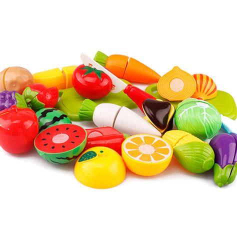 Mainan Anak Miniatur Buah Dan Sayur 20 Pcs Multicolor