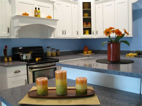 blue kitchen decorating ideas oak cabinets kitchen ideas blue kitchen decor accessories