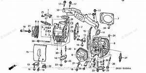 Honda Small Engine Parts Gxv670 Oem Parts Diagram For