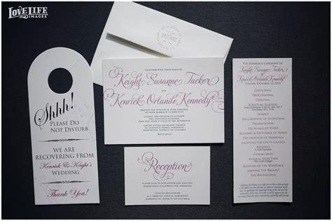 lincoln restaurant dc wedding invitation suite photo
