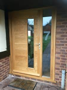 French Doors And Side Panels