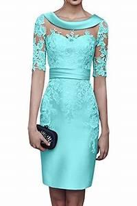 Kleider In Türkis : damen abendkleider knielang ~ Watch28wear.com Haus und Dekorationen