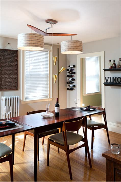 mid century modern dining room light fixture bubingarang midcentury dining room portland maine