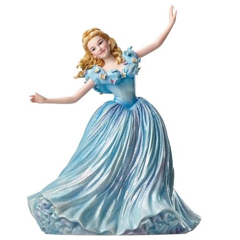 figurine disney showcase haute couture cendrillon en