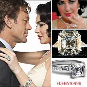 most memorable celebrity engagement rings of all times With liz taylor wedding ring
