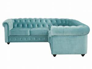 Chesterfield Sofa Samt : chesterfield ecksofa samt anton limited edition blau ~ Whattoseeinmadrid.com Haus und Dekorationen