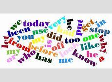 WashingtonNile Local Schools Sight Words Important to