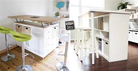etagere ikea cuisine relooker une table lack de chez ikea 15 idées laissez vous inspirer