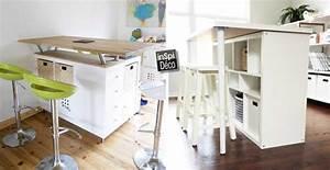 Etagere Cuisine Ikea : relooker une table lack de chez ikea 15 id es laissez ~ Melissatoandfro.com Idées de Décoration