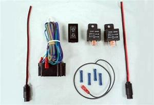 Linear Actuator Wiring Kit With Rocker Switch  U0026 2 Relays