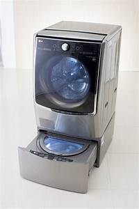 With Twin Wash  Lg Turns Heads With Bold New Washer Design