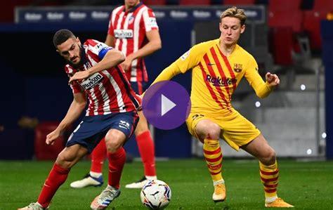 Koke Stars In Atletico Madrid Win Over Barcelona