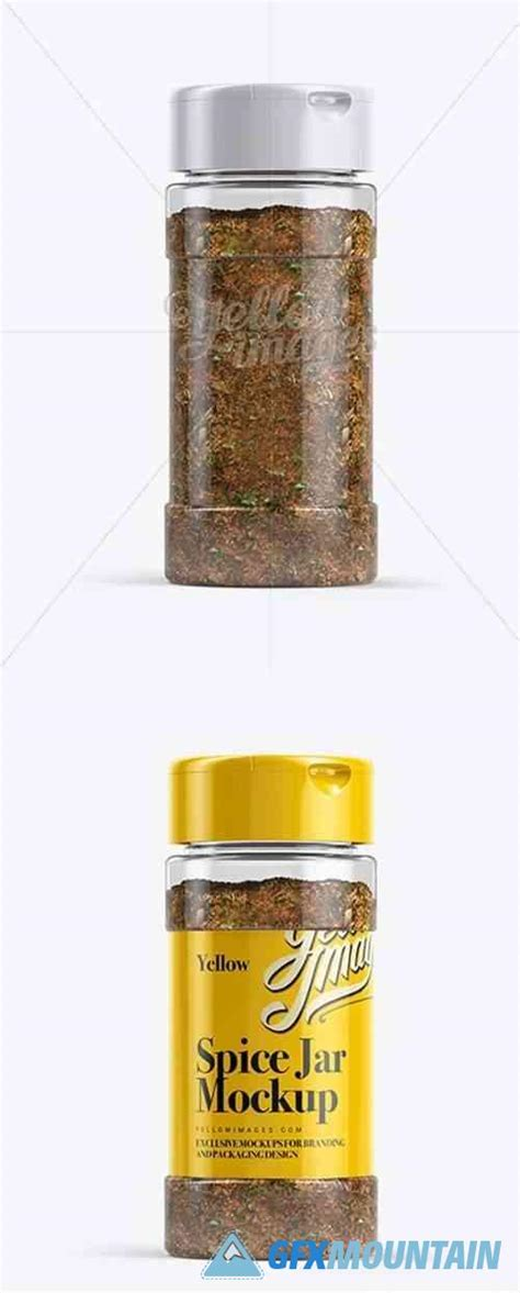 These spice jar mockup can be used to showcase your project to clients and see exactly how it will look in the final printed form. Spice Mix Jar Mockup » Free Download Graphics, Fonts ...