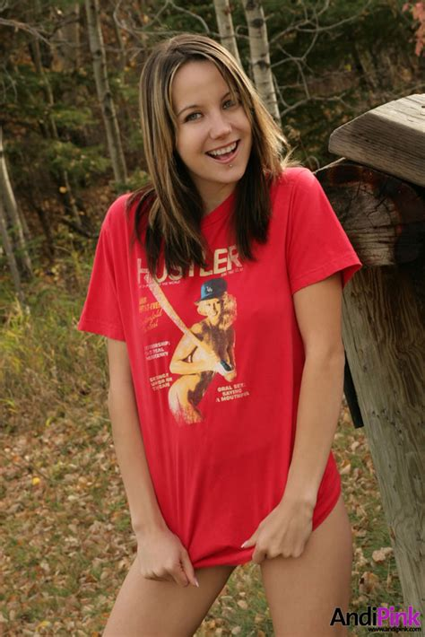 Young And Sexy Teen Bitch Wears Hustler T Shirt Xbabe