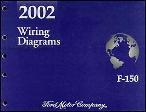 2002 ford f 150 wiring diagram manual f150 pickup truck electrical shop service ebay