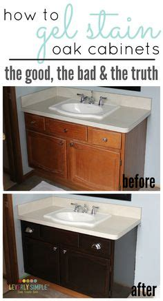 white kitchen cabinet photos give your bathroom vanity a facelift builder grade 1345